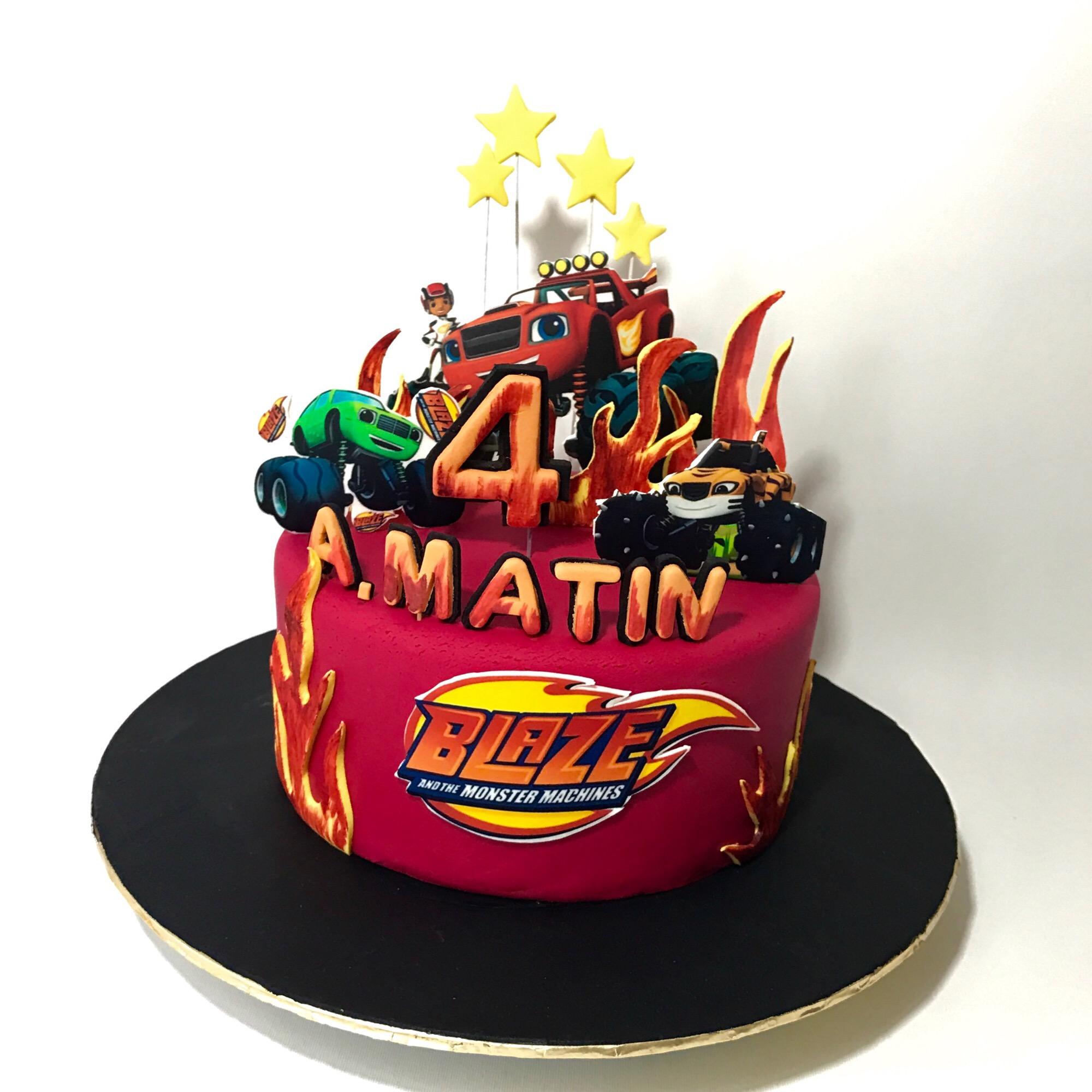 Monster Truck Birthday Cake Ideas