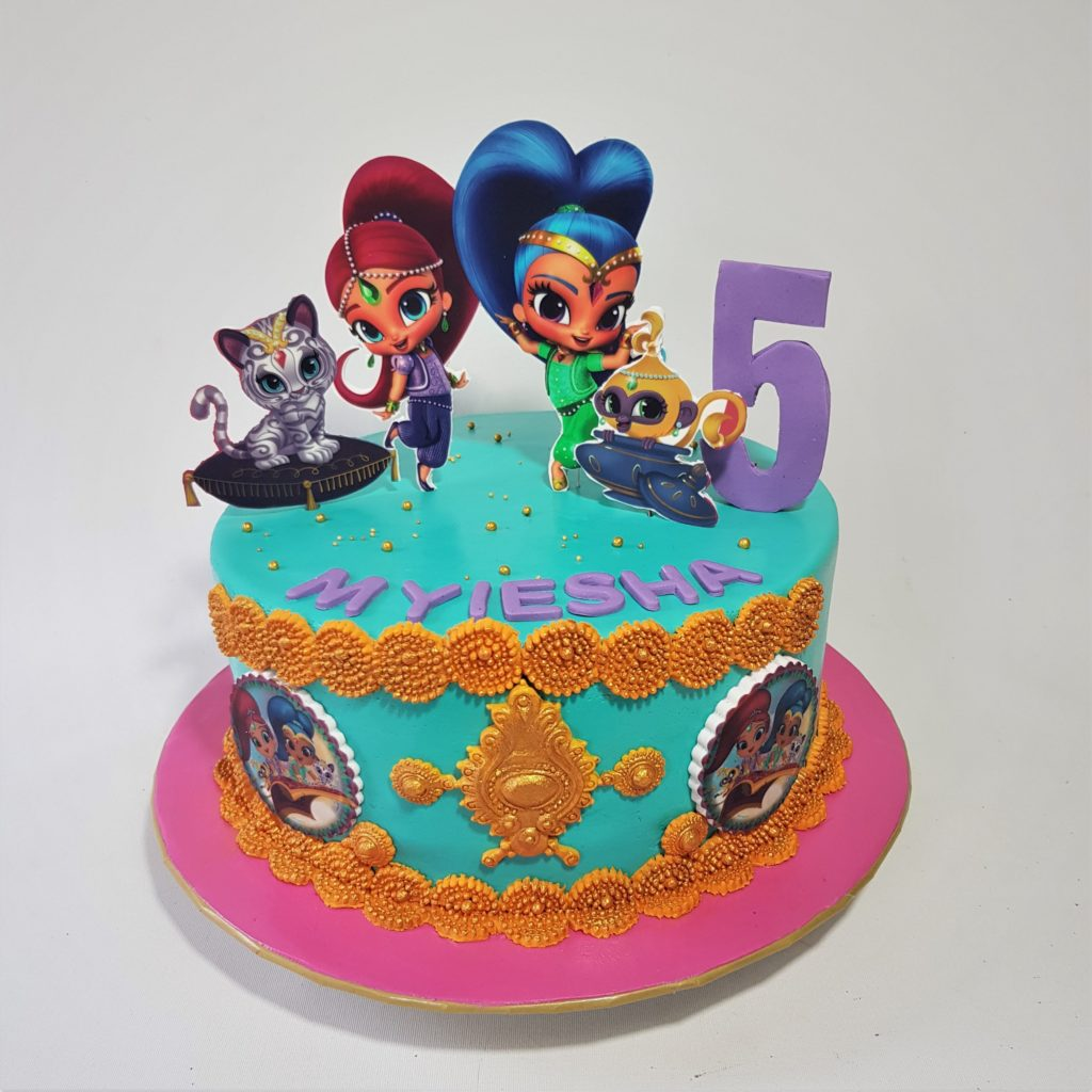 Shimmer And Shine Cake Sooperlicious Cakes