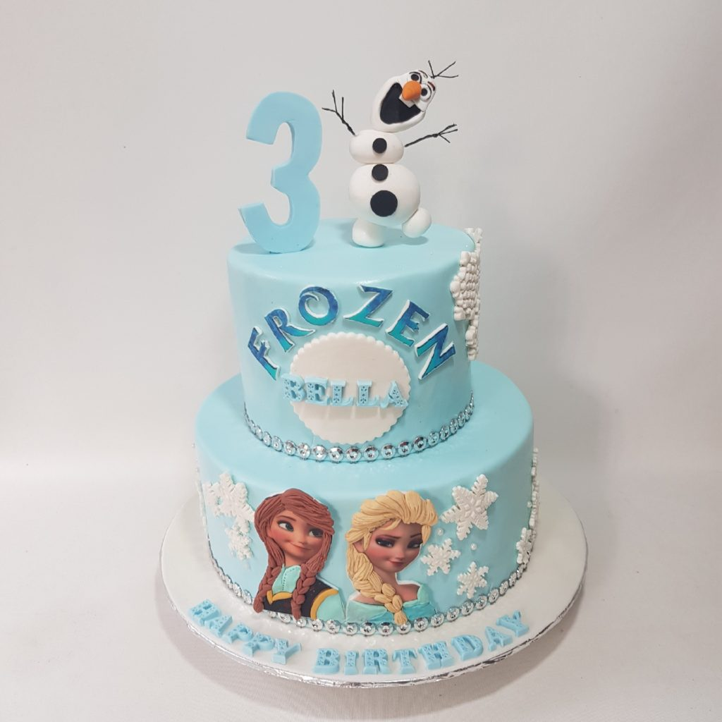 Swell Frozen Princess Cake Sooperlicious Cakes Personalised Birthday Cards Paralily Jamesorg