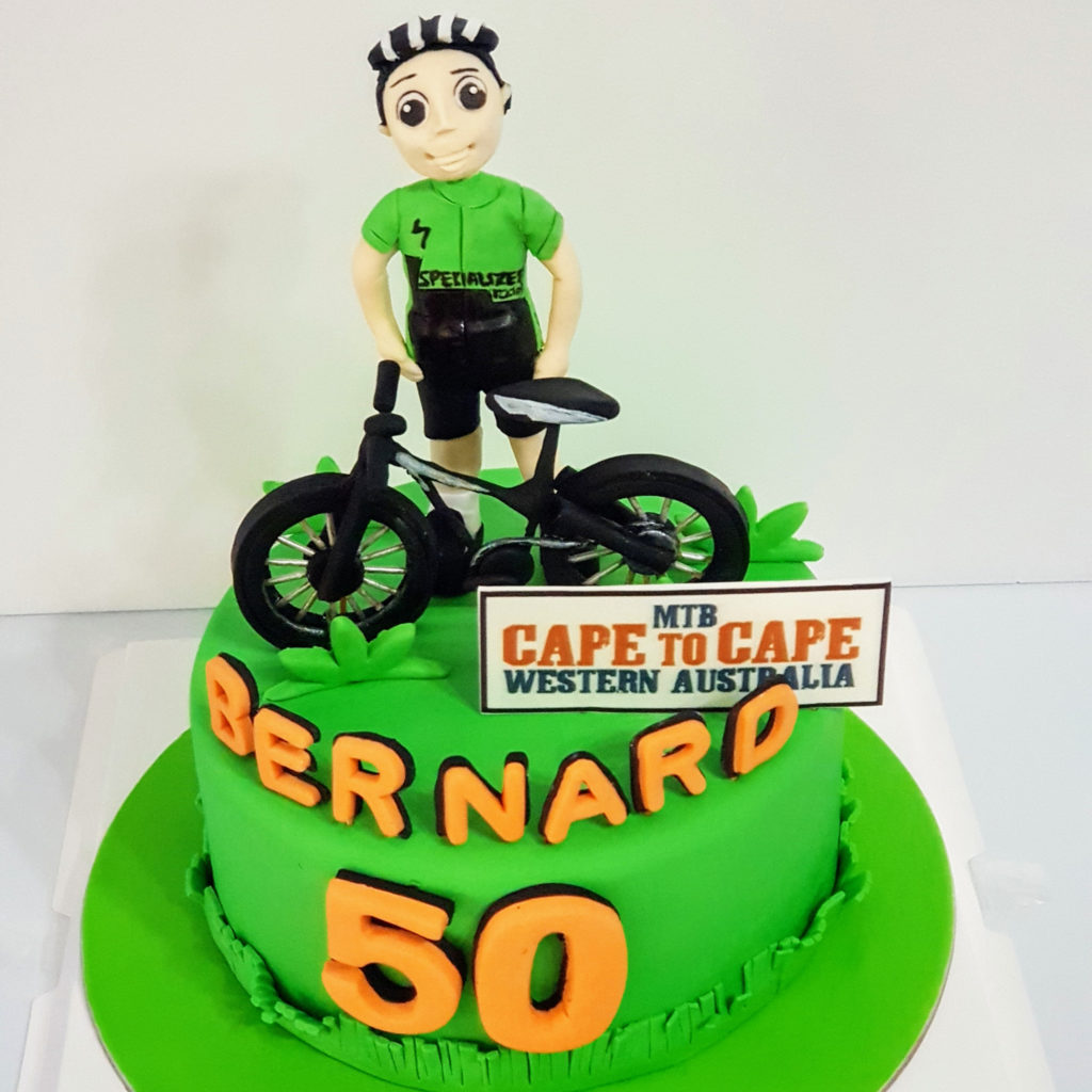 Excellent 3D Bicycle Cake Sooperlicious Cakes Personalised Birthday Cards Xaembasilily Jamesorg