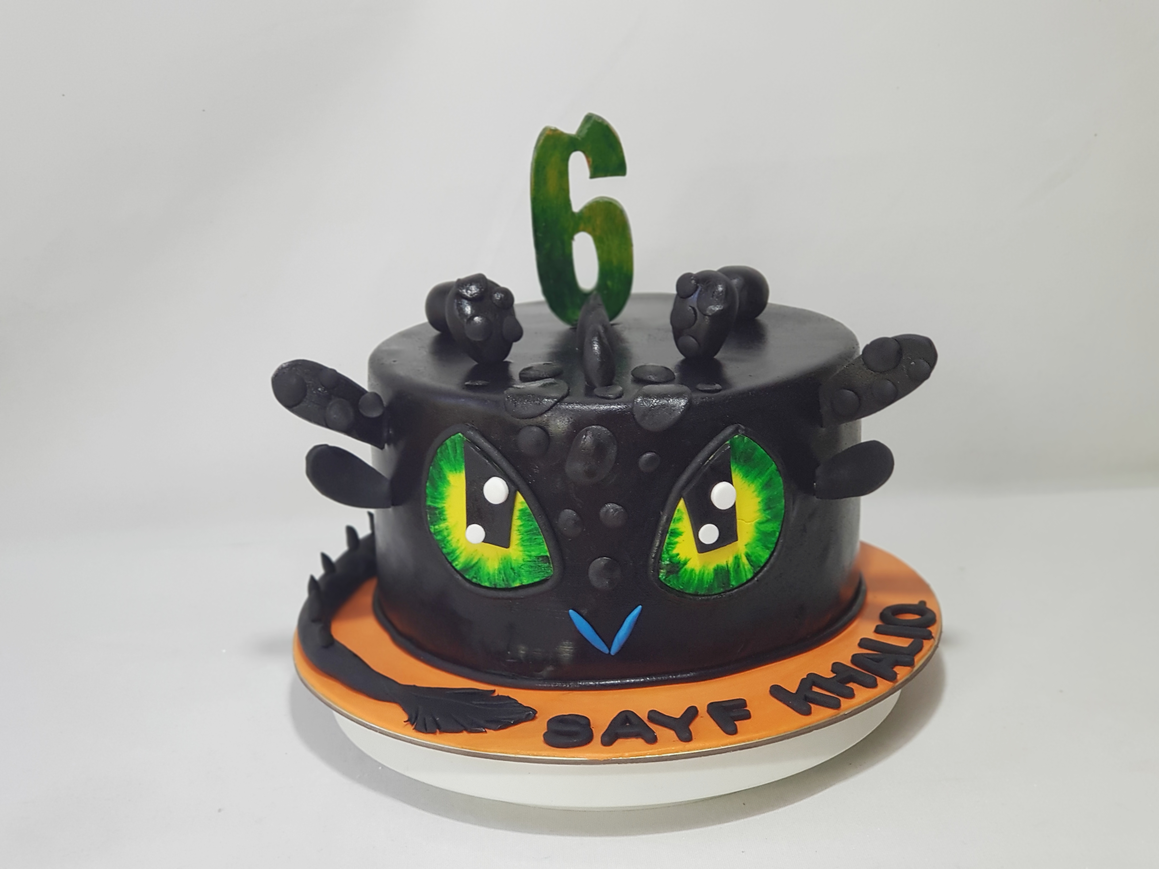 Swell How To Train Your Dragon Birthday Cake Sooperlicious Cakes Personalised Birthday Cards Veneteletsinfo