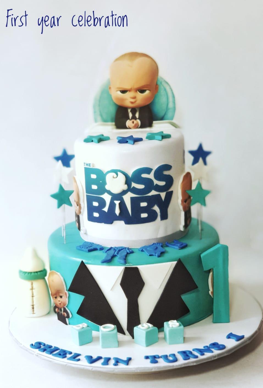 Groovy Boss Baby Birthday Cake Sooperlicious Cakes Personalised Birthday Cards Paralily Jamesorg